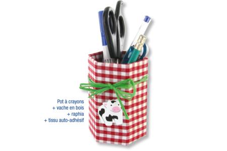 Pot à crayons printanier - Tutos Fête des Mères – 10doigts.fr