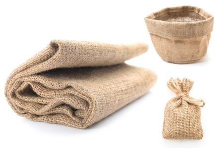 Toile de jute naturelle - 100 x 140 cm - Support textile à customiser – 10doigts.fr