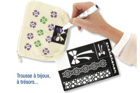 """Pochoir auto-adhésif repositionnable """"Colibri"""" - Pochoir Nature – 10doigts.fr"""