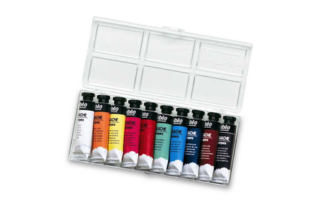 Gouaches en tube - 10 couleurs - Peinture gouache liquide – 10doigts.fr