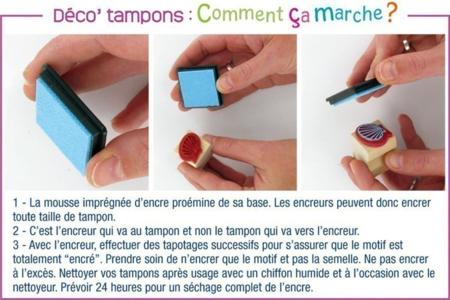 """Tubo de 10 tampons """"AFRIQUE"""" + cadeau de 3 encreurs - Tampons – 10doigts.fr"""