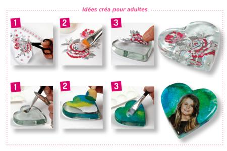 Presse-papier spécial fête des mères - Déco de la maison – 10doigts.fr