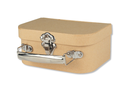 Valisette à bijoux en carton - Supports Bureau en carton – 10doigts.fr