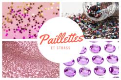 Paillettes et strass – 10doigts.fr
