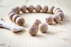 Perles en bois – 10doigts.fr