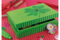 Boîte à cartes en bois - Boîtes et coffrets – 10doigts.fr - 2