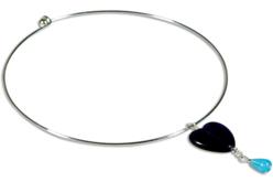 Collier tour de cou argenté ou doré - Colliers et chaines – 10doigts.fr - 2