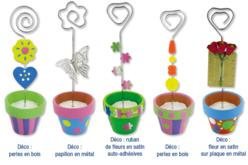 Pots en terre cuite - Supports en Céramique et Terre Cuite – 10doigts.fr
