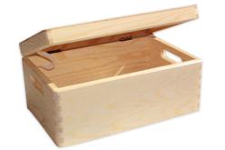 Boîte de rangement en bois - Boîtes et coffrets – 10doigts.fr - 2