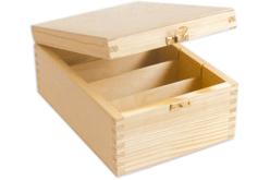 Boîte à photos en bois