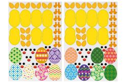 Gommettes poussins de Pâques - 14 Poussins à créer - Kits activités Pâques – 10doigts.fr - 2