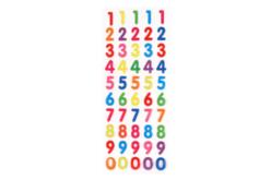 Stickers chiffres en epoxy - Décorations Anniversaire – 10doigts.fr