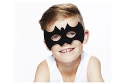 Masque chauve-souris en feutrine épaisse - Halloween – 10doigts.fr - 2