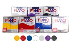 FIMO : Kit de 7 couleurs pailletées + CADEAU - Les kits Fimo – 10doigts.fr - 2