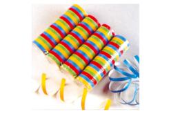Serpentins de papier - Set de 80 rouleaux - Ballons, guirlandes, serpentins – 10doigts.fr