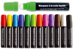 Maxi marqueur craie à valve régulatrice de débit - Craies, tableaux, ardoises – 10doigts.fr