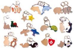 Porte-clefs animaux
