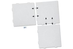 Plaque carrée pour perles fusibles - Perles Fusibles 5 mm – 10doigts.fr - 2