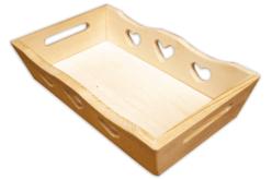Mini-plateau rectangle en bois - Plateaux en bois – 10doigts.fr