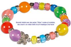 Perles charm's intercalaires argentés - 30 perles - Perles intercalaires – 10doigts.fr - 2