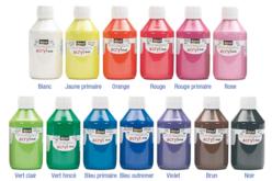 Peinture acrylique DARWI : couleurs vives et pétantes