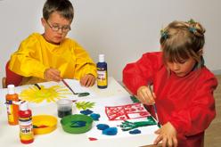 Tablier de protection lavable pour enfant - Nettoyage et Protection – 10doigts.fr - 2