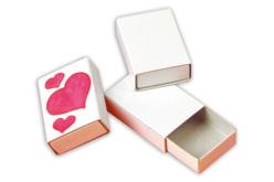 Boîtes d'allumettes en carton blanc - Lot de 10 - Boîtes en carton – 10doigts.fr