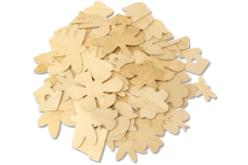 Motifs nature en bois - 70 formes assorties - Motifs bruts – 10doigts.fr - 2