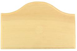 Blason de porte en bois