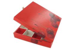 Boîte en bois à 16 casiers - Boîtes et coffrets – 10doigts.fr - 2