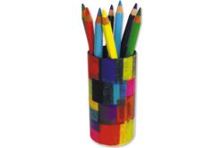 Pot à crayons rond - Pots à crayons – 10doigts.fr - 2