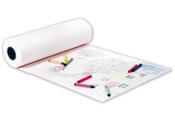 Rouleau de papier blanc pour dessiner ou peindre
