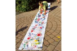 Grand rouleau de papier Blanc pour dessin - Rouleaux et fresques – 10doigts.fr - 2
