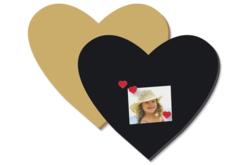 Grand Coeur en bois médium (MDF)
