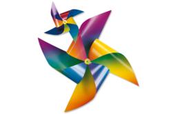 Cartes Arc-en-ciel en dégradé de couleur - Set de 10 - Papiers à effets – 10doigts.fr - 2