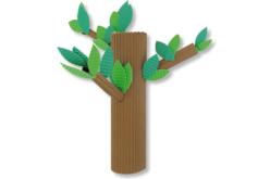 Carton ondulé - 10 feuilles assorties - Carton ondulé – 10doigts.fr - 2