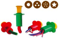 Pistons d'extrusion - Set de 4 - Outils de Modelage – 10doigts.fr