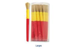 Pinceaux grosse touffe, manche en plastique - Brosses – 10doigts.fr - 2
