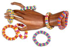 Bracelets techno - Kit pour 15 à 20 bracelets - Bijoux, bracelets, colliers – 10doigts.fr - 2