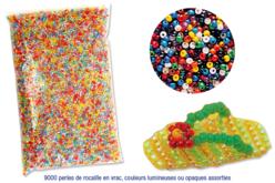 Perles de rocaille couleurs assorties - 9000 perles - Perles de rocaille – 10doigts.fr - 2
