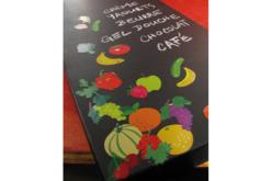 Gommettes fruits - 2 planches - Gommettes Fruits et Légumes – 10doigts.fr - 2