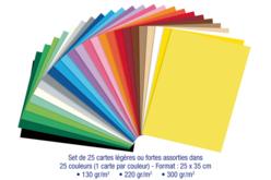 Papiers moyens 220gr - Dimensions au choix - Papiers épais – 10doigts.fr - 2