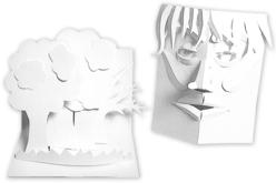 Carte en papier bristol 300 gr/m² - 50 feuilles - Ramettes de papiers – 10doigts.fr - 2