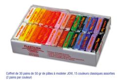 Pâtes enfantines ne durcissant pas à l'air JOVI - Pâtes à modeler non durcissantes à l'air  – 10doigts.fr - 2