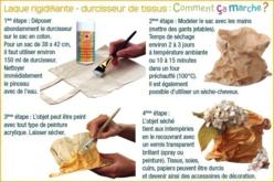 Durcisseur de tissus - Colles tissu – 10doigts.fr - 2