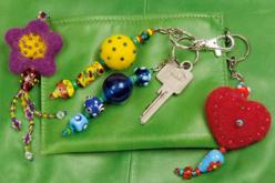 Porte-clés à anneaux avec chaîne - Lot de 25 - Porte-clés pour bijoux – 10doigts.fr - 2