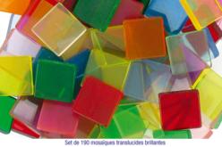 Mosaïque Acrylique - Finition transparente brillante - Mosaïques résine acrylique – 10doigts.fr