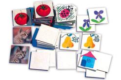 Cartes Mémory vierges à dessiner ou peindre