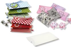 Boîte à cadeau en carte blanche