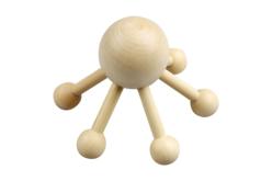 Araignée de massage en bois naturel - Jeux et Jouets en bois – 10doigts.fr - 2